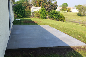 Install Concrete Patio