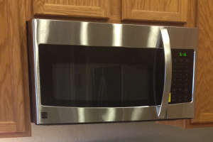 Install A Microwave