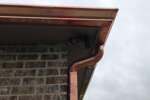 2020 Copper Gutters Cost Price Per Foot Installation Downspouts Homeadvisor