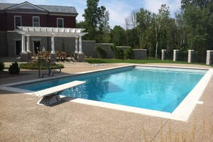 2019 inground pool costs avg price to install an underground pool homeadvisor for Cost of swimming pool installation inground