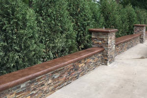 2019 Vertical Stamped Concrete Wall Cost Homeadvisor