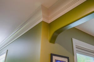 2019 crown molding costs price to install per foot cost - Average cost to have interior house painted ...