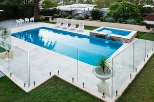 2021 Cost Of Pool Fence Glass Safety Fencing Prices Homeadvisor