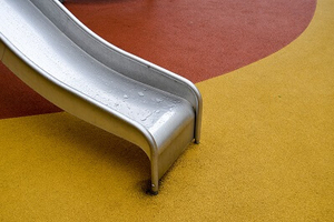 Poured Rubber Playground Surface