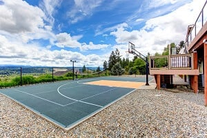 2021 Basketball Court Costs Indoor Backyard Sports Courts Homeadvisor