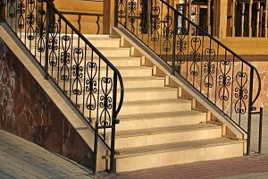 2021 Cost Of A Wrought Iron Railing Install For Stair Porch Balcony Homeadvisor