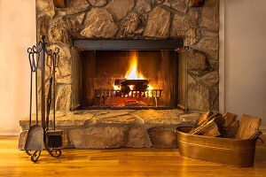 2021 Stone Veneer Fireplace Costs, How Much Does It Cost To Reface A Fireplace With Tile