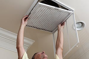 Install or Replace a Central Air Cleaner
