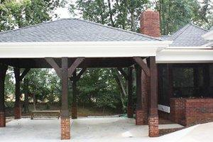 Build A Carport on wooden ceiling designs