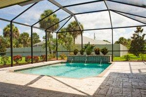 2018 swimming pool enclosure costs pool cage costs for Inground pool enclosure prices