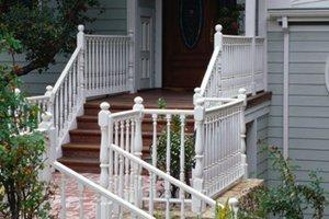 Install or Replace Wood Stairs and Railings in Humble