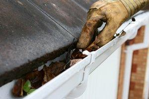 Clean Gutters and Downspouts