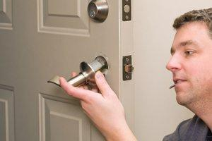 Repair or Replace Door Hardware, Latches or Tracks