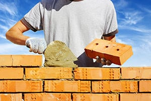 Install A Brick Or Stone Wall