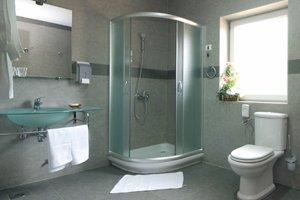 install or replace a shower door or enclosure in