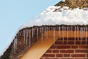 Install Roof Heating Cable to Melt Snow