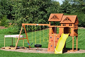 Install A Playground Or Swing Set