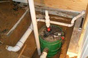 Install Interior Foundation Drains or Sump Pump in Erie