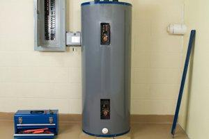 Hot water heater installed cost