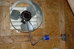 Install an Attic or Whole House Fan