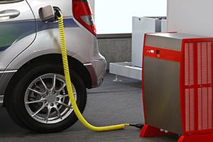 Install an Electric Vehicle Charging Station
