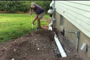 Install or Replace Foundation Drains in Hartford