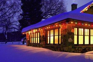 install holiday lighting - Outdoor Christmas Decorations Nj