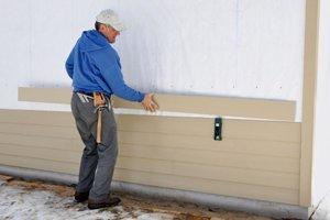 Apply Liquid (Spray-On) Siding in Dallas