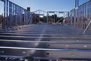 Install Steel Beams