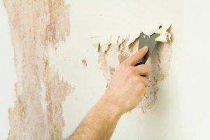 how to get wallpaper glue off walls