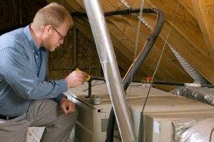 Repair or Service Furnace or Forced Air Heating System in Castle Rock