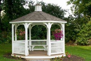 Repair a Gazebo or Freestanding Porch in New Brunswick