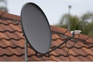 Repair or Service a Satellite Dish System