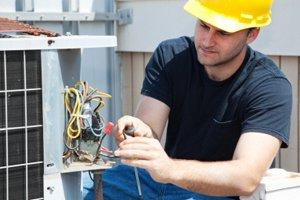 Repair or Service a Central Air Conditioning System