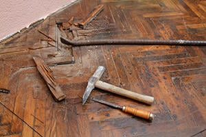Repair or Partially Replace Wood Flooring in Mount Pleasant