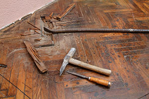 Repair or Partially Replace Wood Flooring in Elkhart