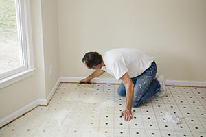 Repair Vinyl or Linoleum Sheet Flooring or Tiles