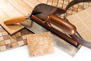 Repair Natural Stone Tile in Littleton