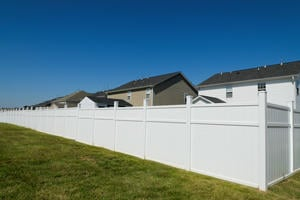 Repair or Partially Replace a PVC or Plastic Fence in Dayton