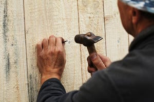 Repair a Wood Fence