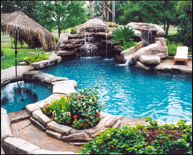 Swimming pool addition pool remodeling ideas for Pool and jacuzzi designs