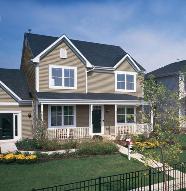 Traditional Home Exterior In Louisville Composition