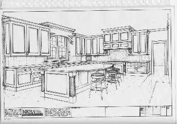 Interior Design Sketches Kitchen modern kitchens interior design sketches. modern. home plan and