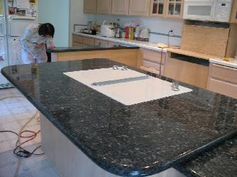 Beaverton or kitchen island countertop pictures and photos for Beaverton kitchen cabinets reviews