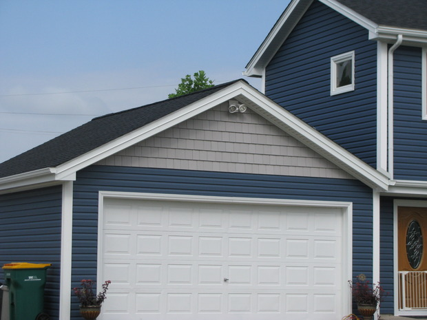 Traditional Home Exterior In Chesterfield White Trim