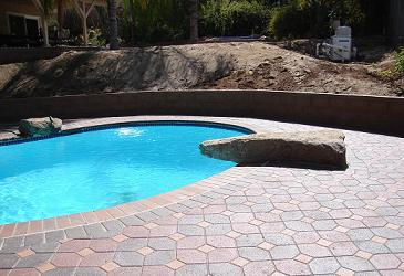 swimming pool paver jobs pictures and photos