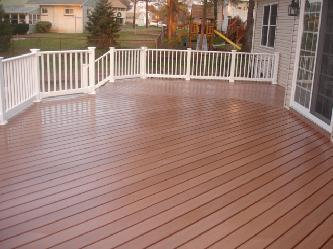 Composite Deck With Vinyl Rail Pictures And Photos