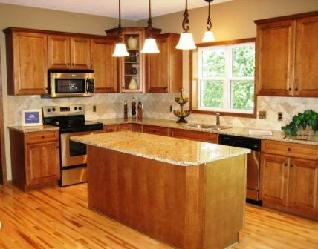 6 Kitchen Makeovers With New Cabinets And Granite Pictures