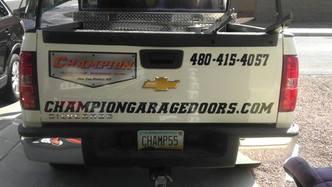 Champion Garage Doors Inc Queen Creek Az 85143