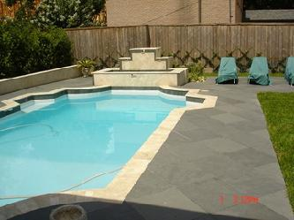 Travertine Amp Slate Pool Pictures And Photos